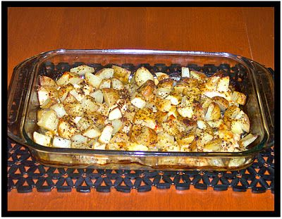 easy italian chicken and potatoes