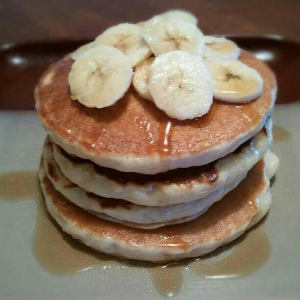 Banana pancakes | Recipes | Pinterest