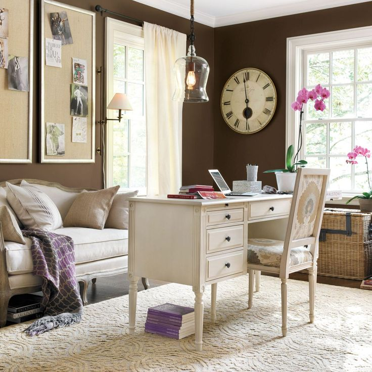 Home office furniture home office decor ballard designs pinpoint - Ballard design home office ...