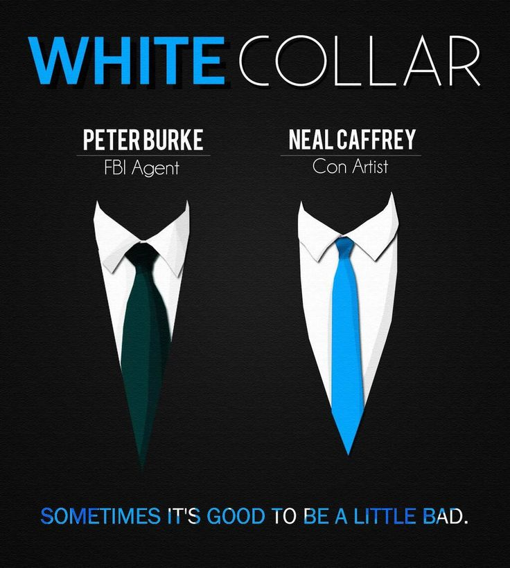 White Collar- Peter Burke and Neal Caffrey