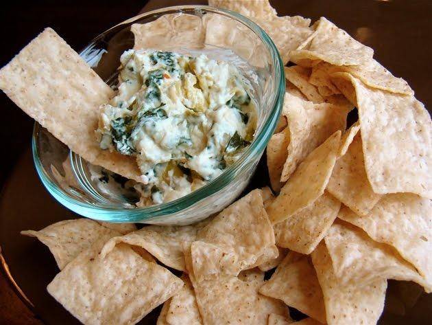 "Hot Spinach Artichoke Dip"" - from Favorite Family Recipes"