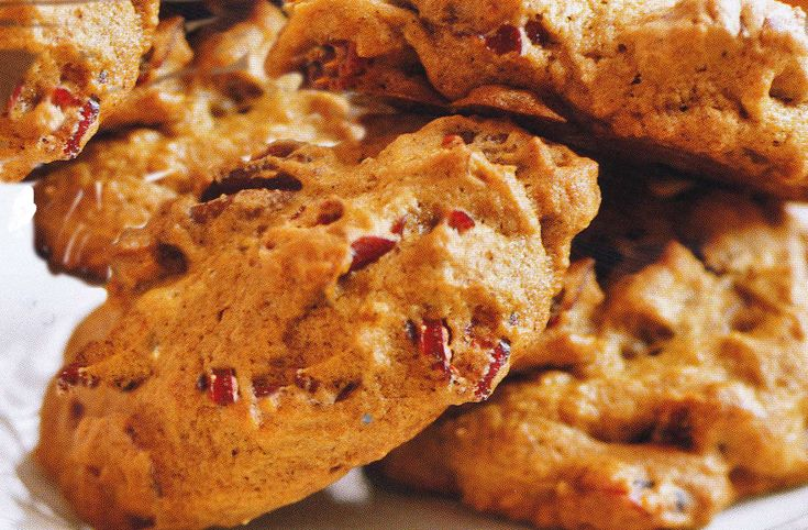Pumpkin Cranberry Pecan Cookies | Food oh Glorious Food | Pinterest