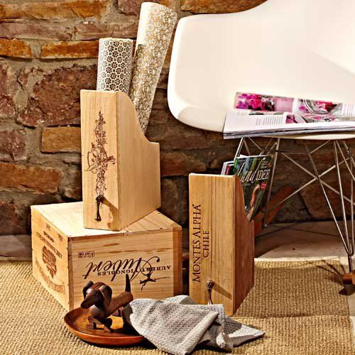 mobel aus holz weinkisten m bel ideen und home design inspiration. Black Bedroom Furniture Sets. Home Design Ideas