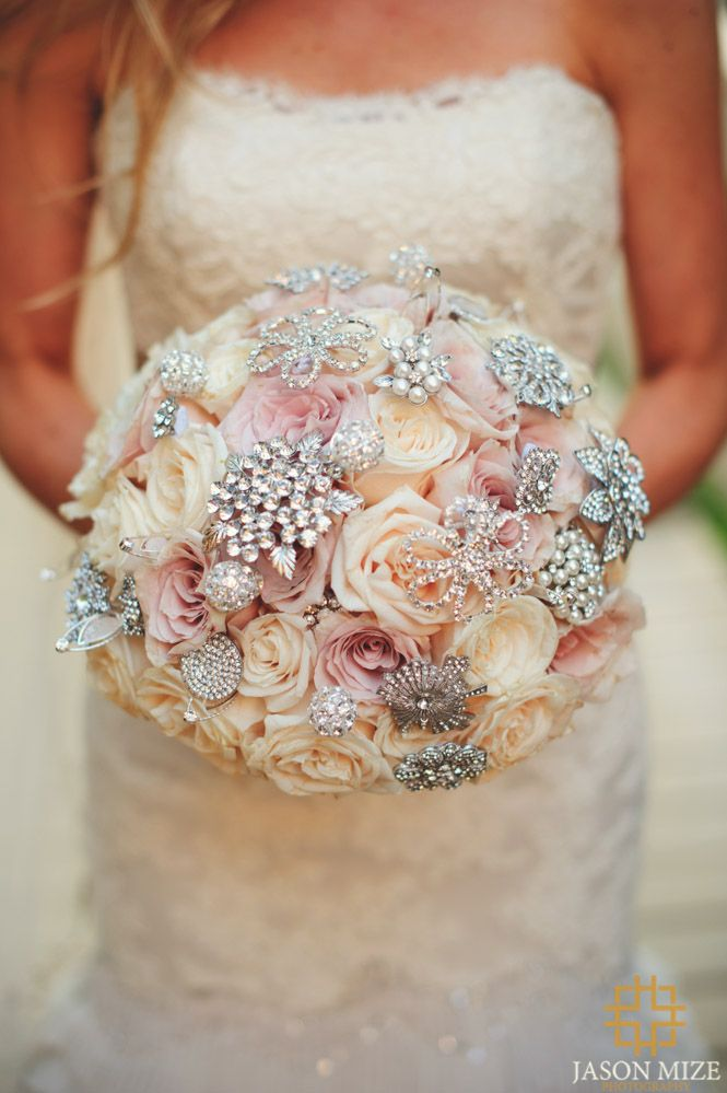 Bridal Flowers With Bling : Bling bouquet wedding