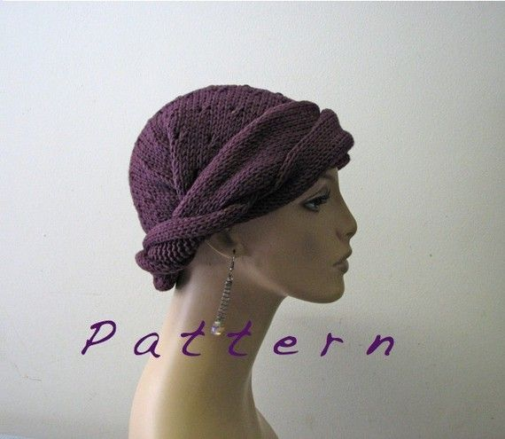 Simple Knit Headband Pattern : Headband/Bandana - Easy-To-Knit Pattern in PDF