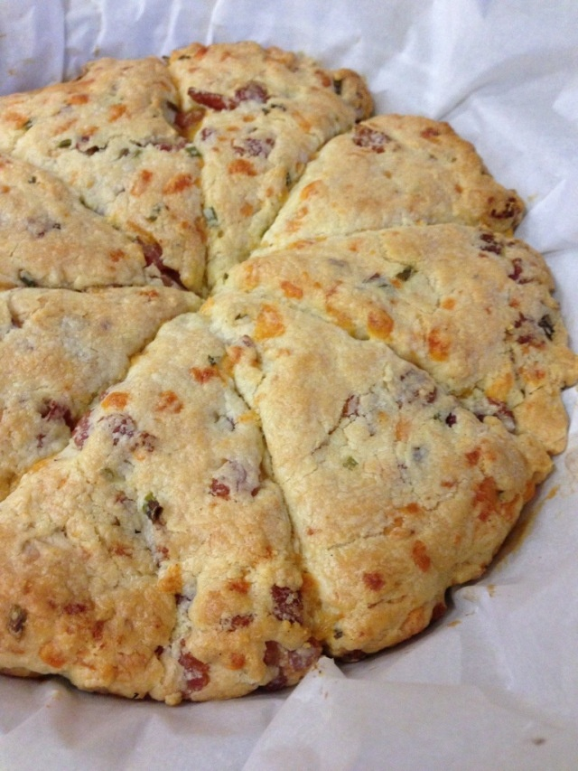 Bacon and Cheddar Scones | Cool stuff | Pinterest