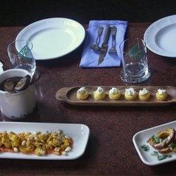 Crispy Polenta Bites with Ricotta and Truffle Honey — Punchfork