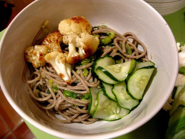 Ginger Scallion Noodles | Main Dishes | Pinterest