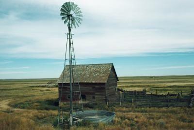 Old Windmill ON FARM | Windmills | Pinterest