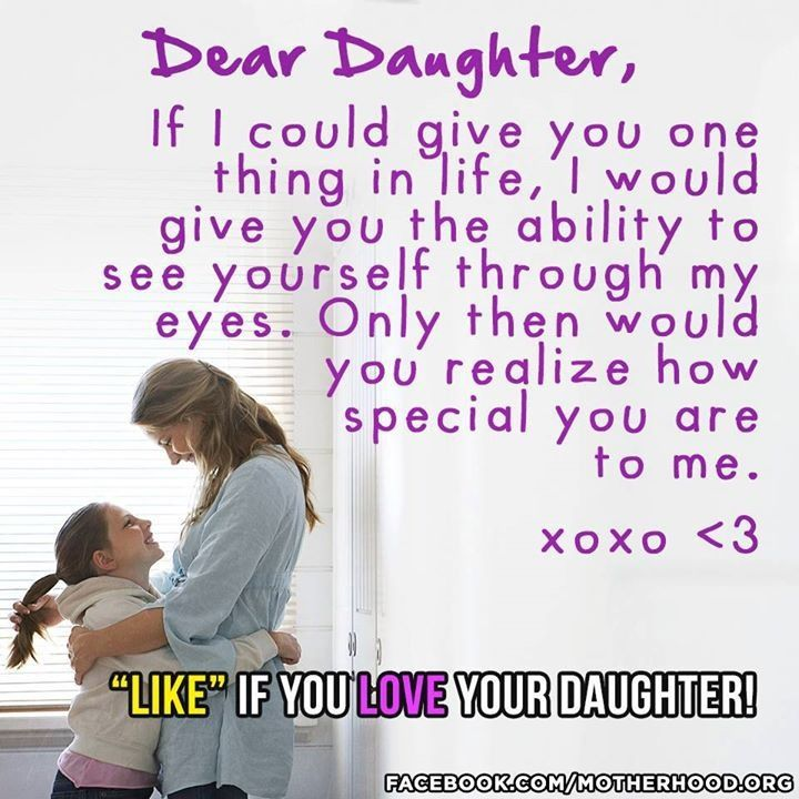 I Love You Quotes To My Daughter : Love You So Very Much I Love My Daughter Pinterest