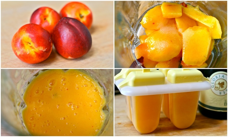 is for: Nectarine Boozy Bellini Popsicle Great natural Popsicle. Don ...