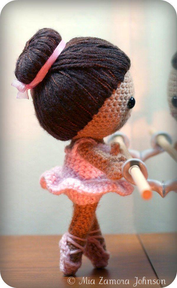 Amigurumi ballerina ca j'adore!!!!