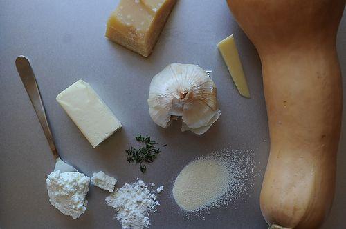 Butternut Squash and Roasted Garlic Galette | Recipe