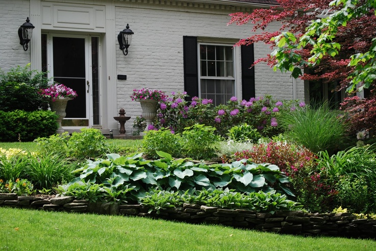 Landscaping Shrubs Around House : Couvers learn ideas for planting hostas