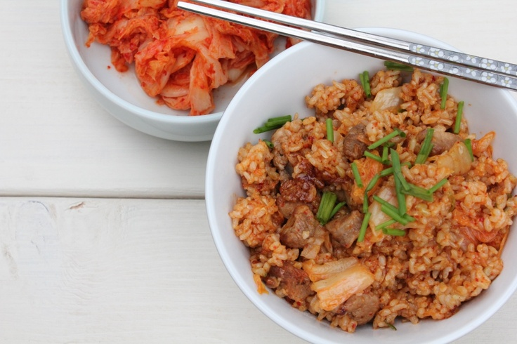 Kimchi Fried Rice. | Recipes: Side Dishes | Pinterest