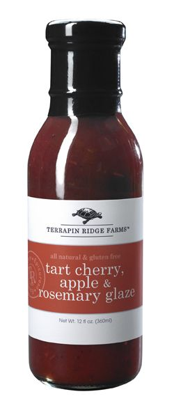 Tart Cherry, Apple & Rosemary Glaze | Kitchen | Pinterest