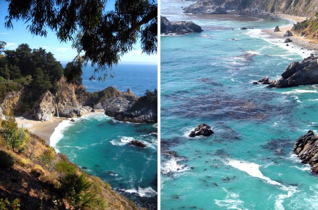 Big sur california shorelines pinterest for Pretty beaches in california