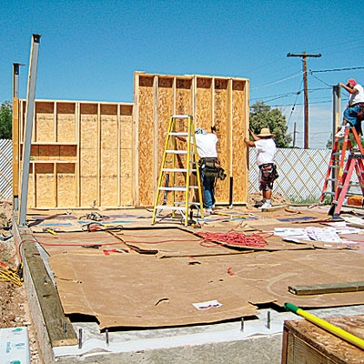 Step by step building a prefab house for Building a house step by step