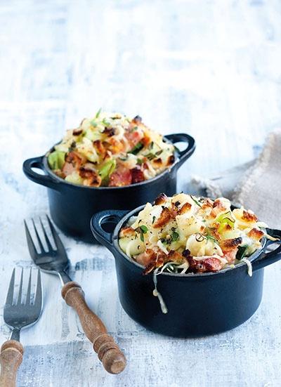 Potato & Leek Gratin | Food!! | Pinterest
