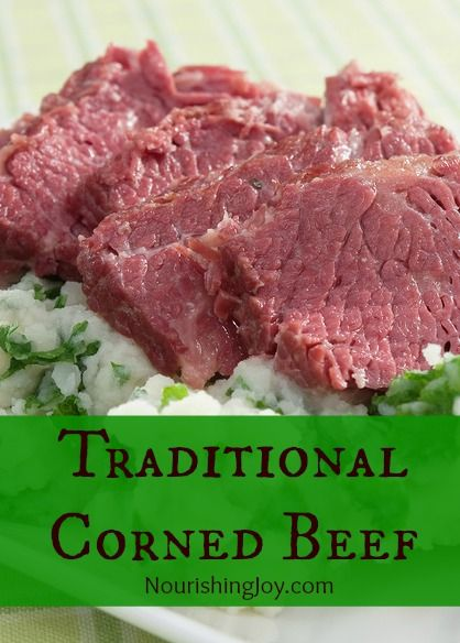 Homemade corned beef recipe dishmaps for What to do with salt beef