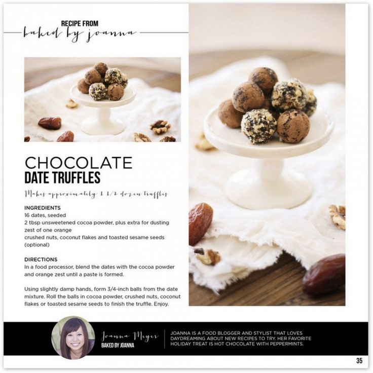 Date truffles and free download Ramadan Mubarak gift tags   Sweet Fajr