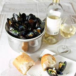 Mussels with Parsley and Garlic | Yum | Pinterest