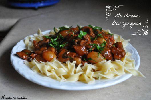 Mushroom Bourguignon | {Pasta} & Grains & Legumes | Pinterest