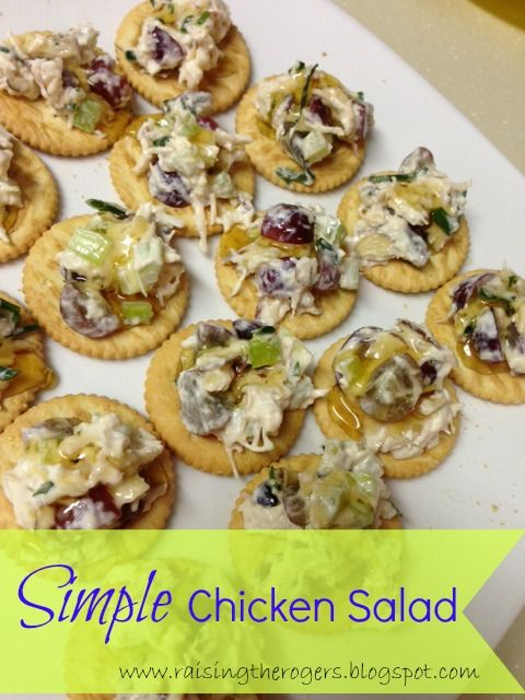 blt chicken salad best basic chicken salad recipe simple chicken salad ...