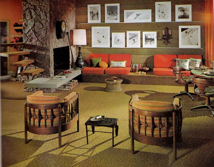 Retro Style 1970s Home Decor Retro Pinterest
