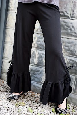 Cool Ruffle Pants  EBay