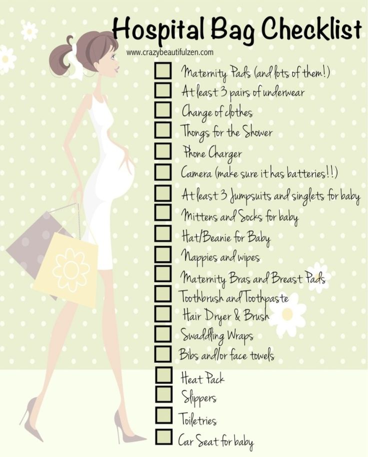 Checklist For New Baby Coming Home