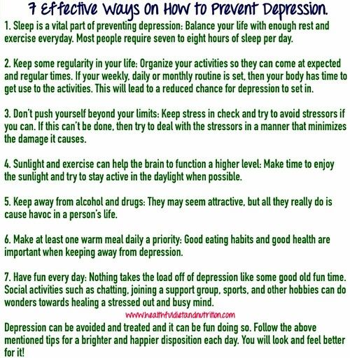 how to stop depressive thoughts