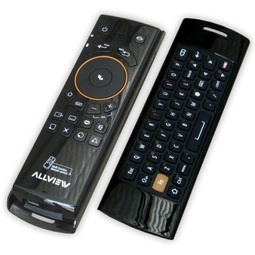 Telecomanda Allview All TV, Air Mouse si Minitastatura QWERTY, Black