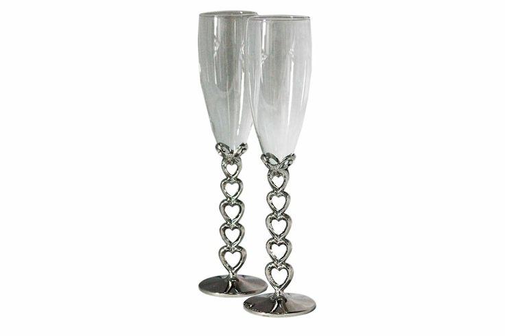 Copas de champagne botellas copas vasos pinterest for Copas de champagne