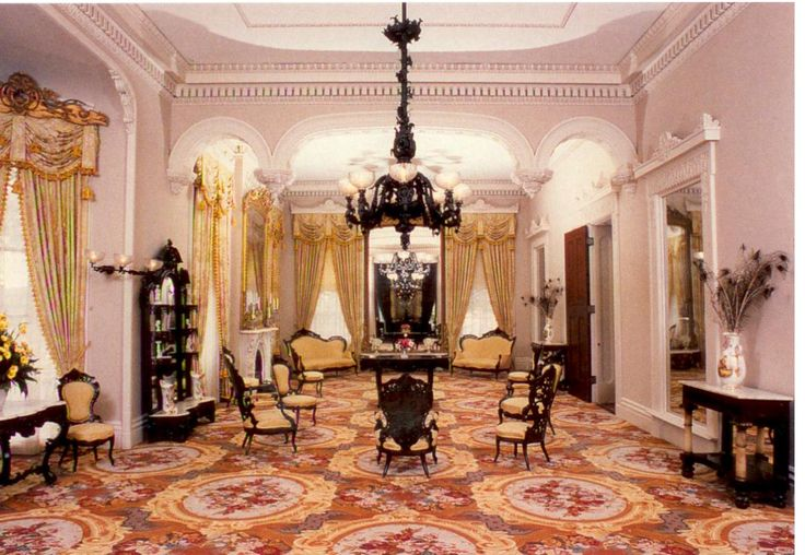 Stanton Hall And The Antebellum Interior Antebellum Era Pinterest