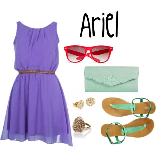 """ariel"" by simply-disney on Polyvore"