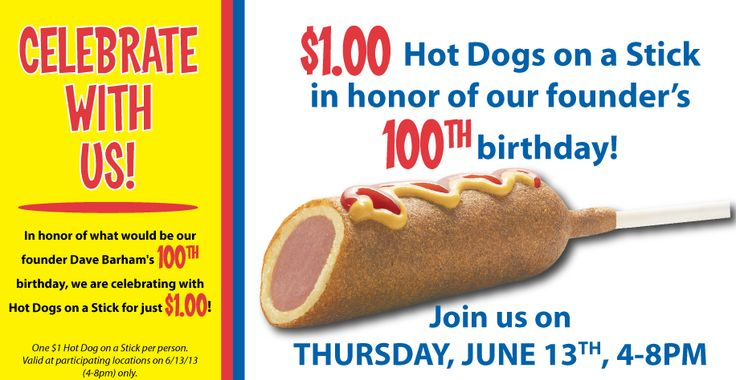 Coupons For Hot Dog On A Stick