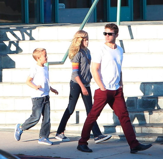 Ryan Phillippe Treats Ava and Deacon to a Fun Family Day Ryan Phillippe Children