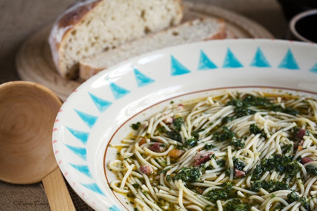 Ligurian Pasta Soup with Pesto by Lynnylu on Flickr