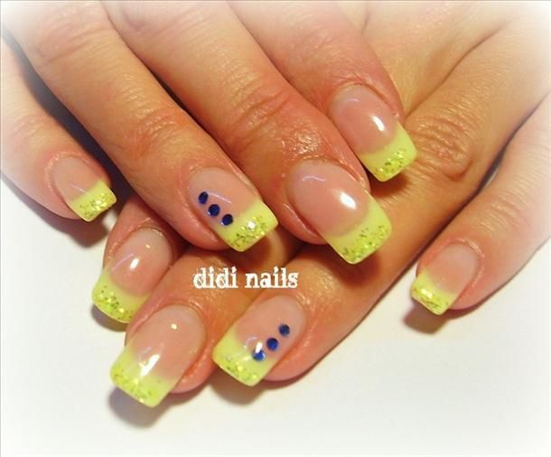 nails | Tags: Gel nails images , neon yellow nails , Gel , gel nails