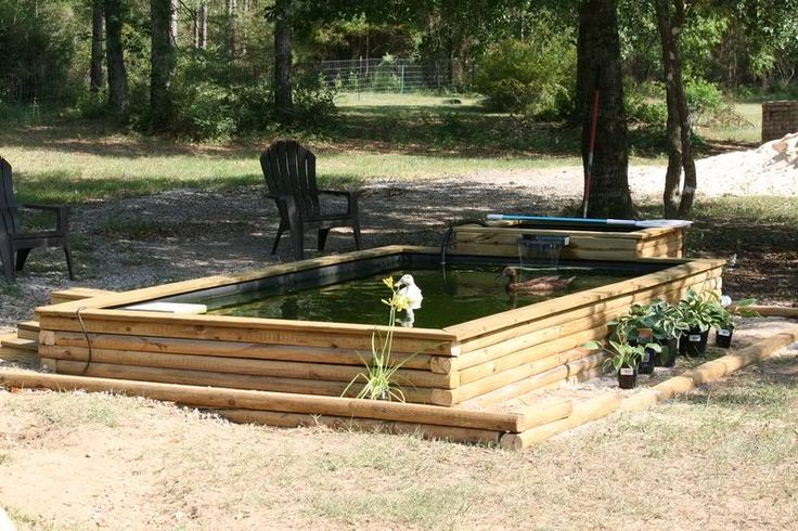 Diy Backyard Duck Pond : Duck pond This I really like!