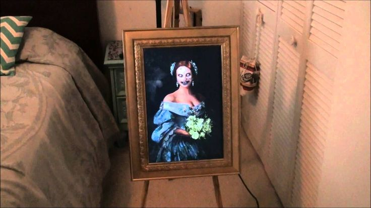 haunted ghost portrait halloween prop halloween pinterest