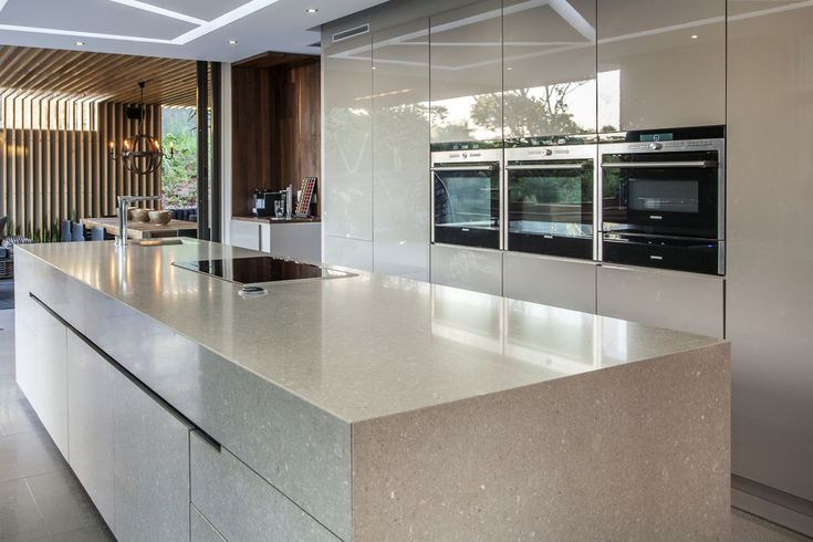 Pin by caesarstone sa on south african kitchens pinterest for Kitchen islands south africa