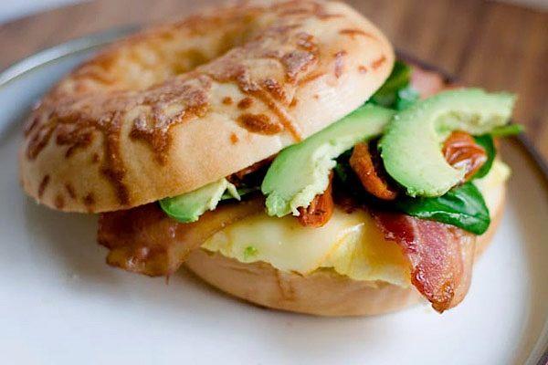 Maple bacon breakfast sandwich recipe | Delish ...