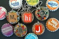 men travel bag Bottlecap jewelry  more jewelry