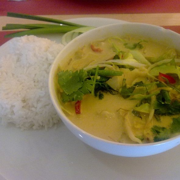 Thai Green Vegetable Curry | It's all about Food | Pinterest
