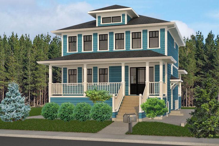 Classic foursquare house plan american foursquare ideas for 4 square house plans