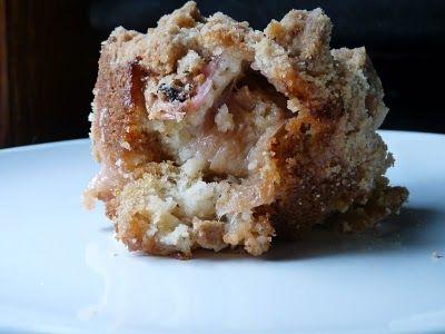 big crumb coffee cake with rhubarb | rhubarb recipes | Pinterest
