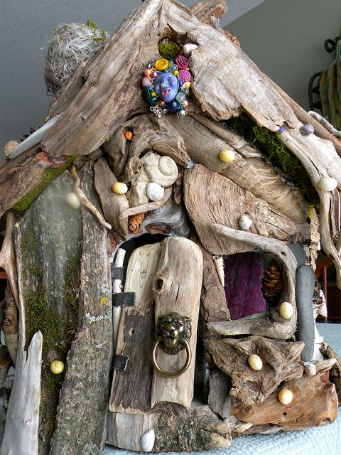 drift wood house