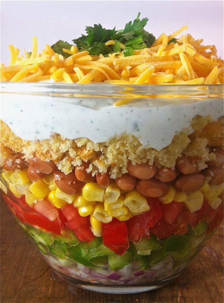 Cornbread Salad | Salads | Pinterest